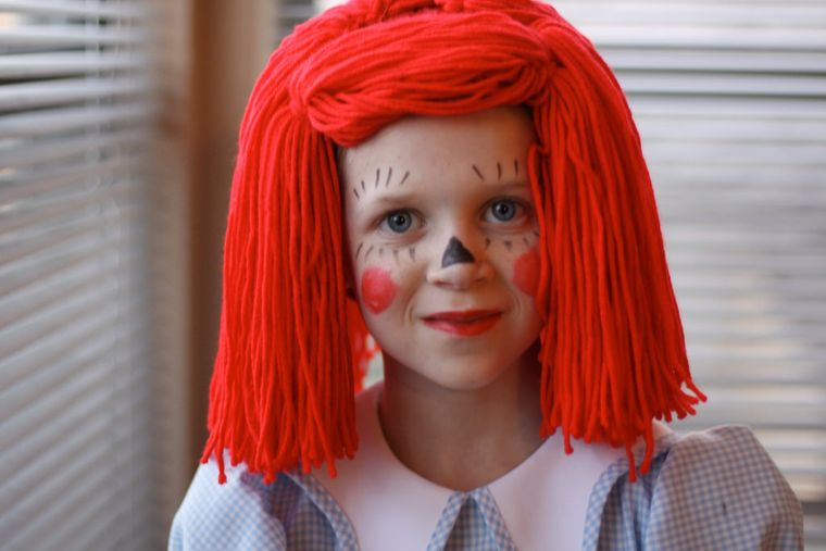 disfraces halloween muñeca trapo