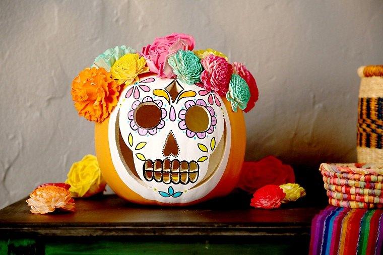 Calabazas de halloween pintadas – Ideas increibles para decorar la casa