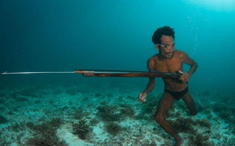 la tribu bajau cazadores mar