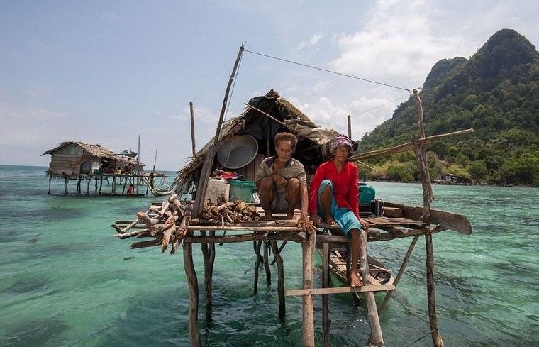 la tribu bajau estilo vida mar