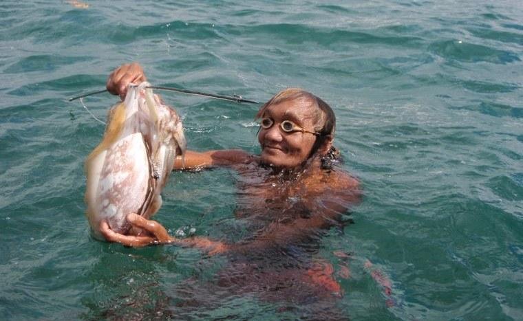 la tribu bajau expertos pescadores