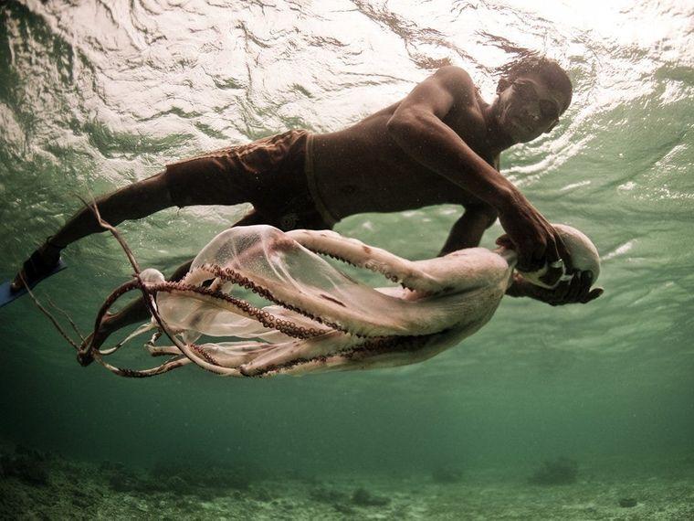 la tribu bajau pescadores