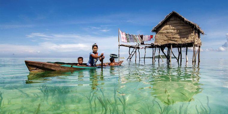 la tribu bajau vida mar