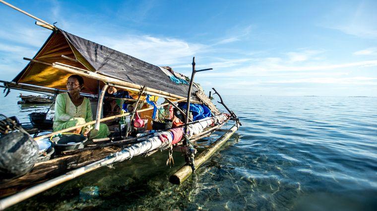 la tribu nomada marina