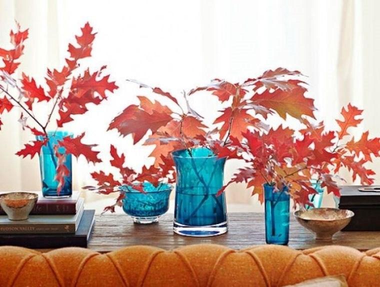 manualidades fáciles hojas otoño