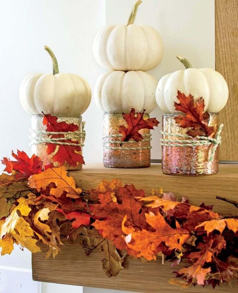 manualidades-fáciles para repisa otoño