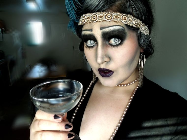 maquillaje original chica flipper
