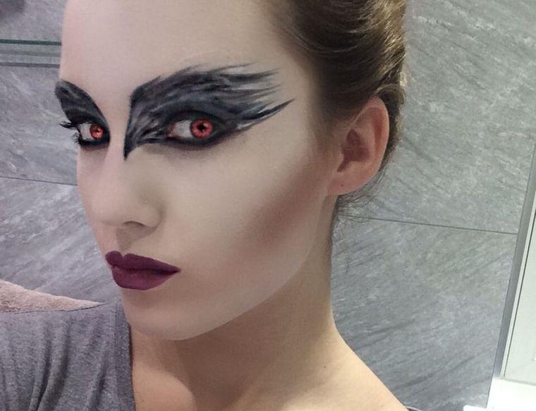 maquillaje original cisne negro