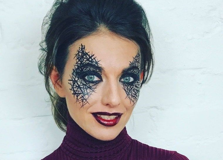maquillaje original mascarada