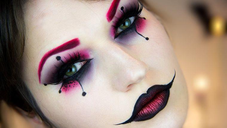 maquillaje original noche halloween
