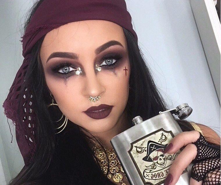 maquillaje original pirata