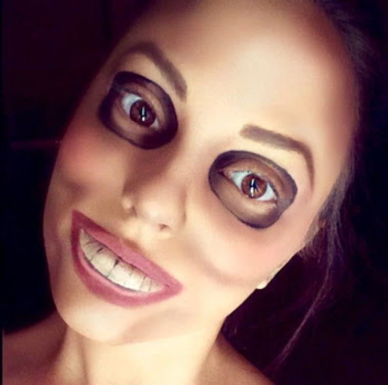 maquillaje original purga