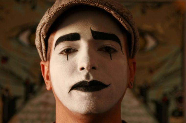 maquillaje para hombre de mimo