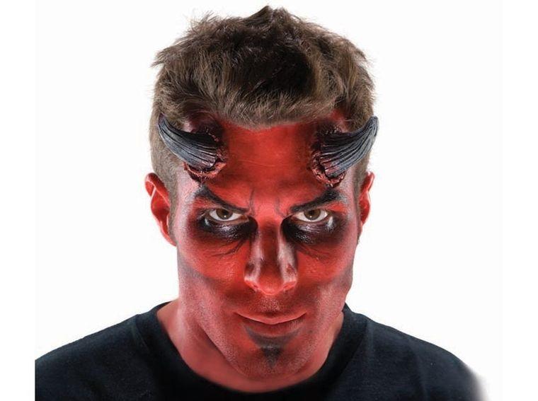 maquillaje para hombre diablo
