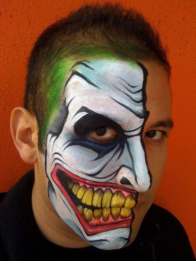 maquillaje para hombre jocker