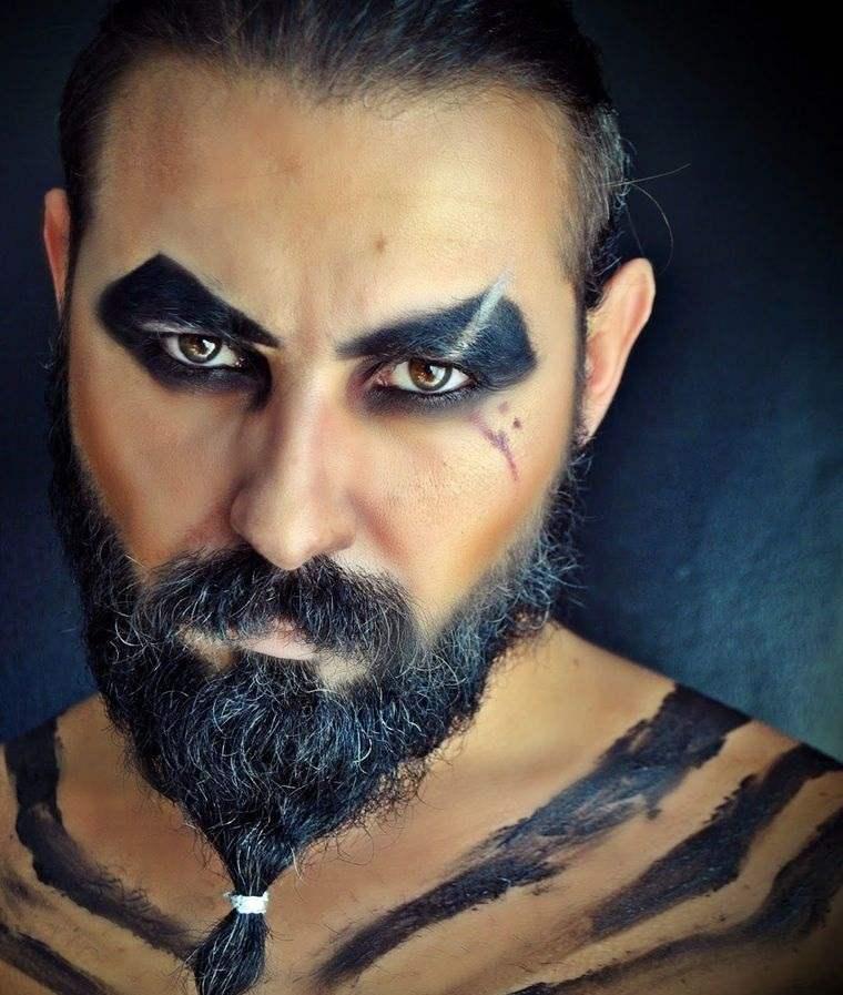maquillaje para hombre khal