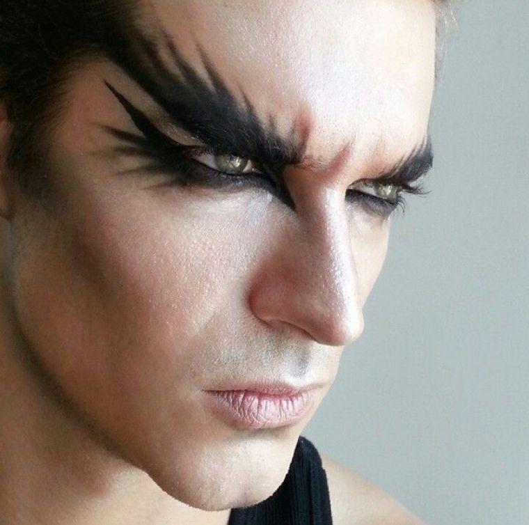 maquillaje para hombre pajaro