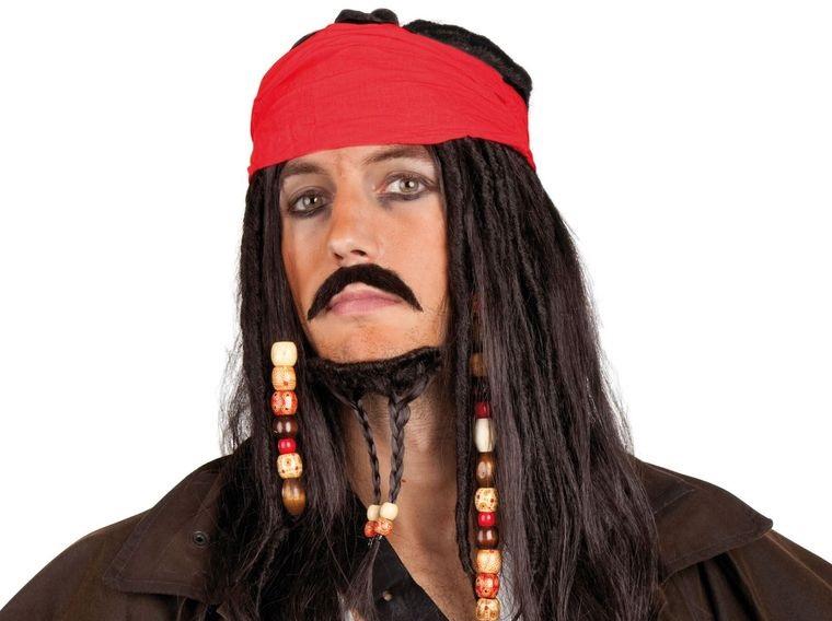 maquillaje para hombre pirata