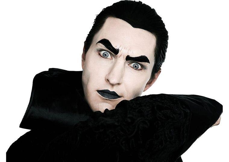 maquillaje para hombre vampiro
