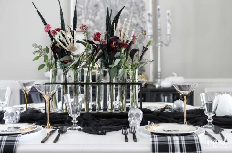 mesa-blanco-negro-halloween