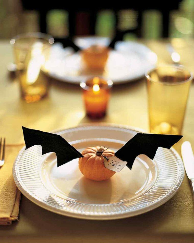 mesa-halloween-decorar-calabazas