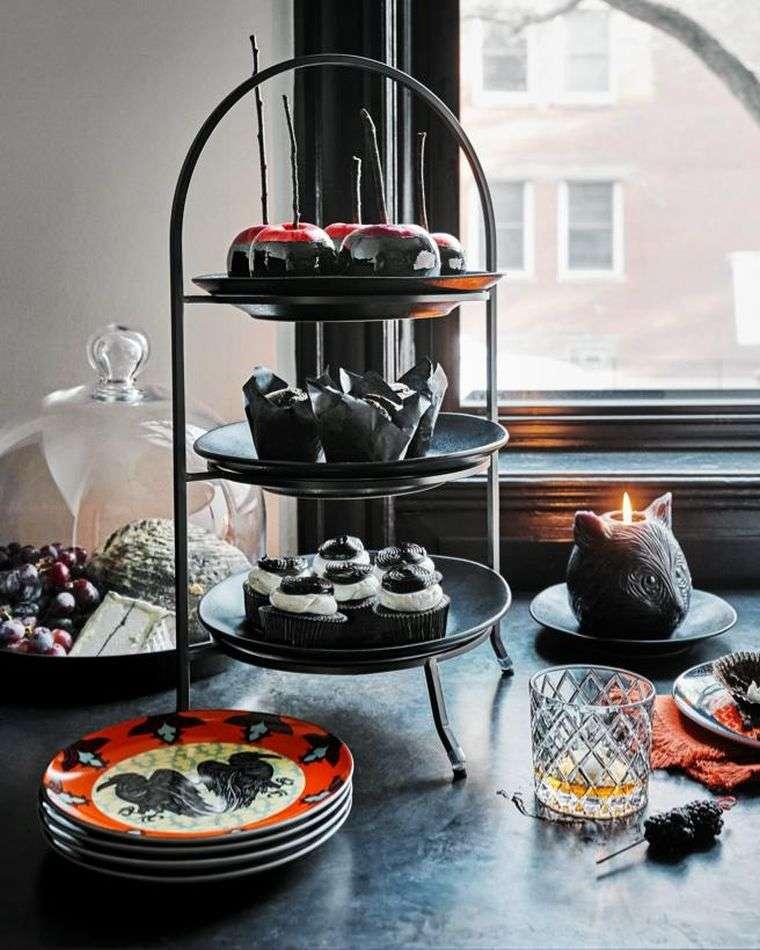 mesa halloween-estilo-decoracion-ideas