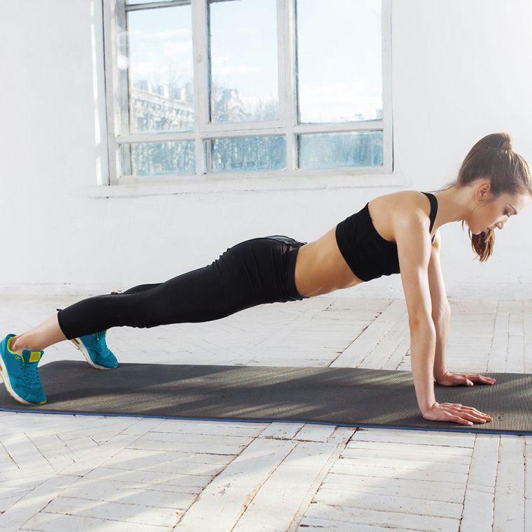 perdida de grasa-brazo-flexiones