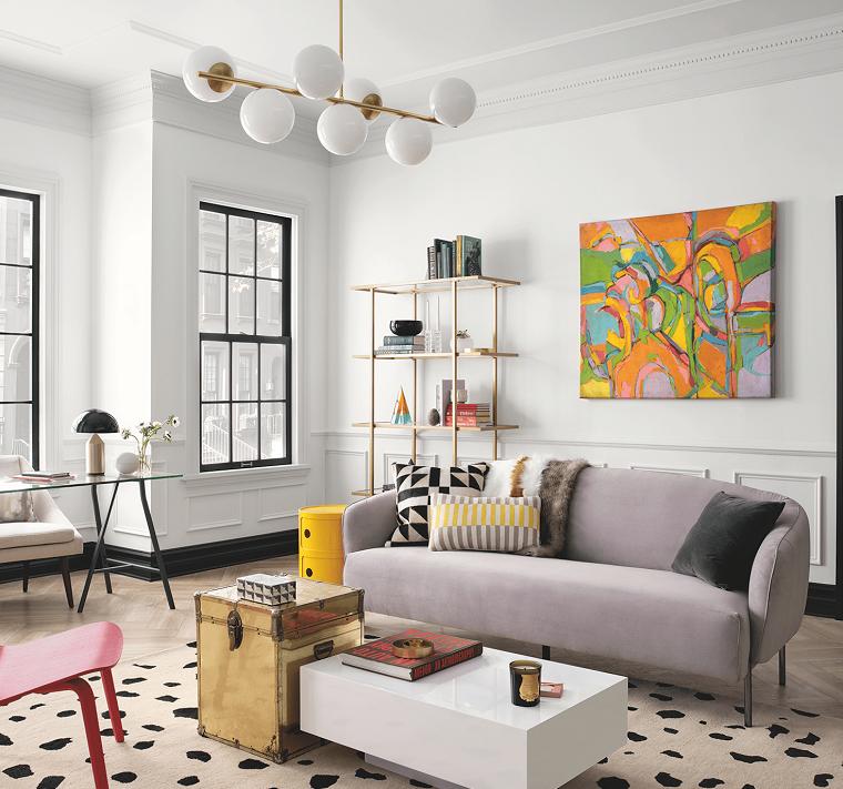 Color gris paloma en el diseño interior – Ideas y consejos