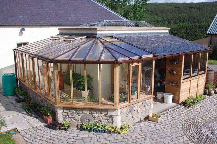 solárium amplio patio