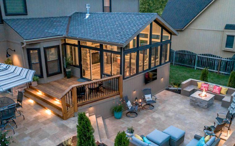 attractive solarium design