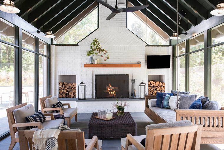 solárium muebles de madera