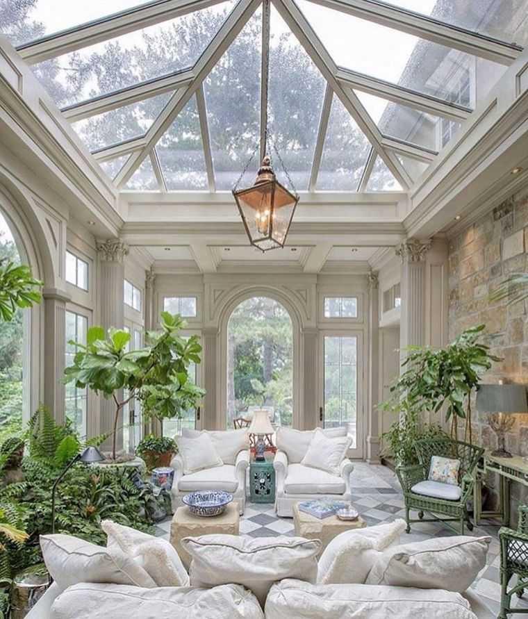 solárium techo cristal