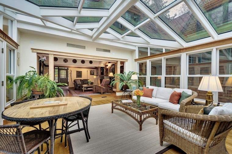 solárium techo paredes cristal