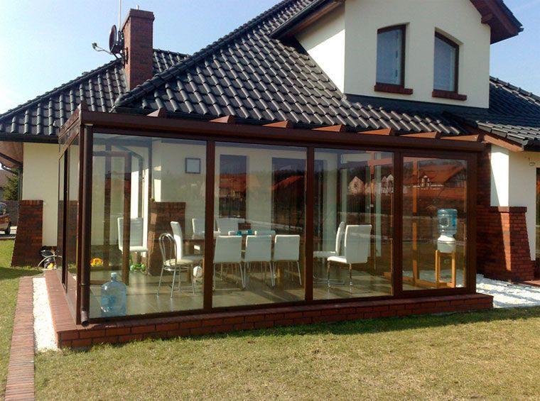 solárium tendencia casas
