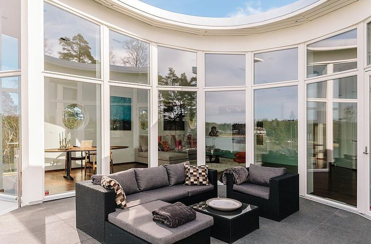solárium terraza acristalada