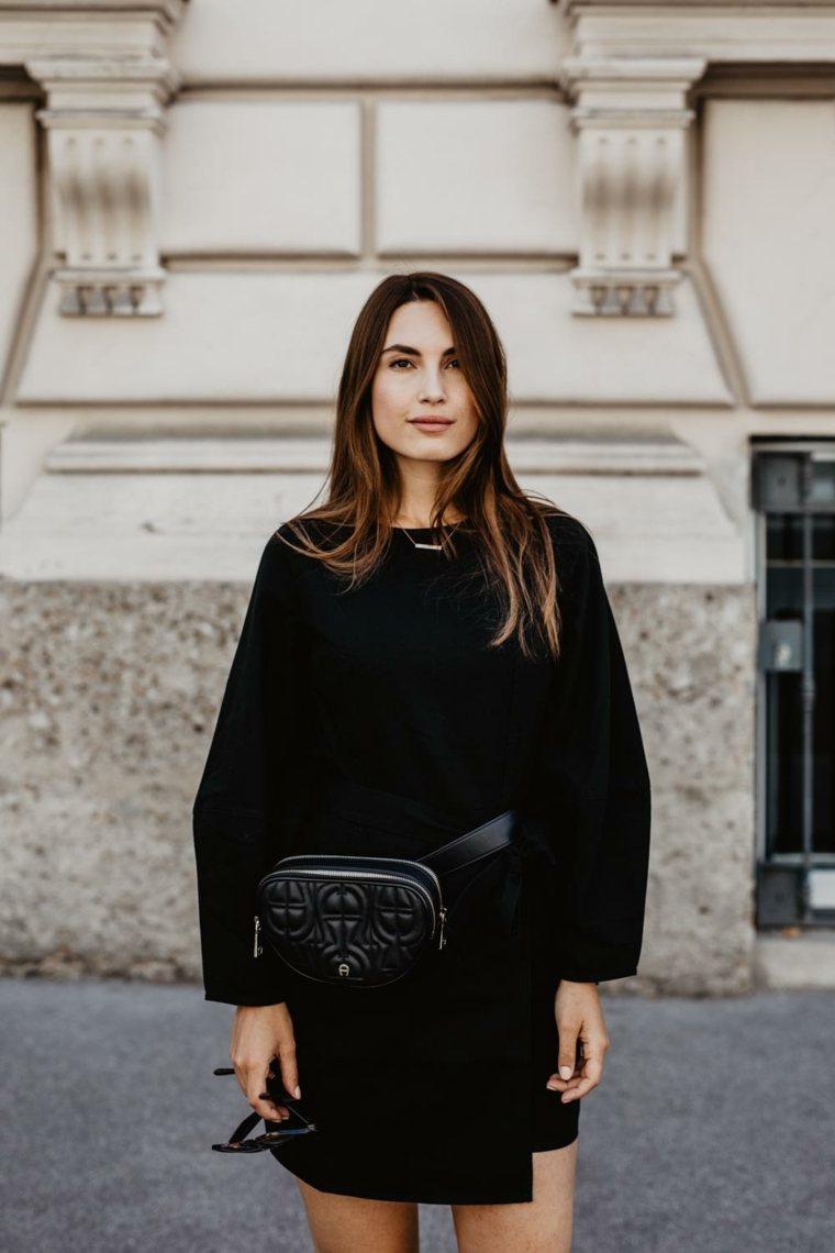 Vestido negro básico-estilo-callejero
