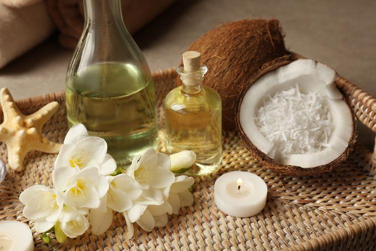 alcalinizar aceite coco