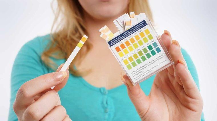 alcalinizar muestras de farmacia
