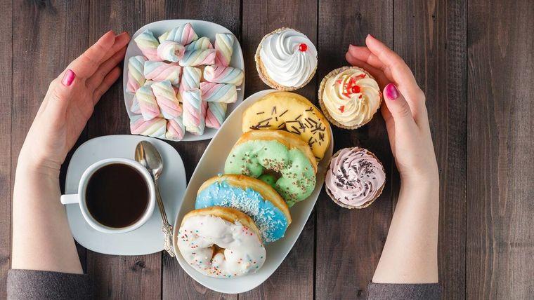 alimentación emocional con azucar