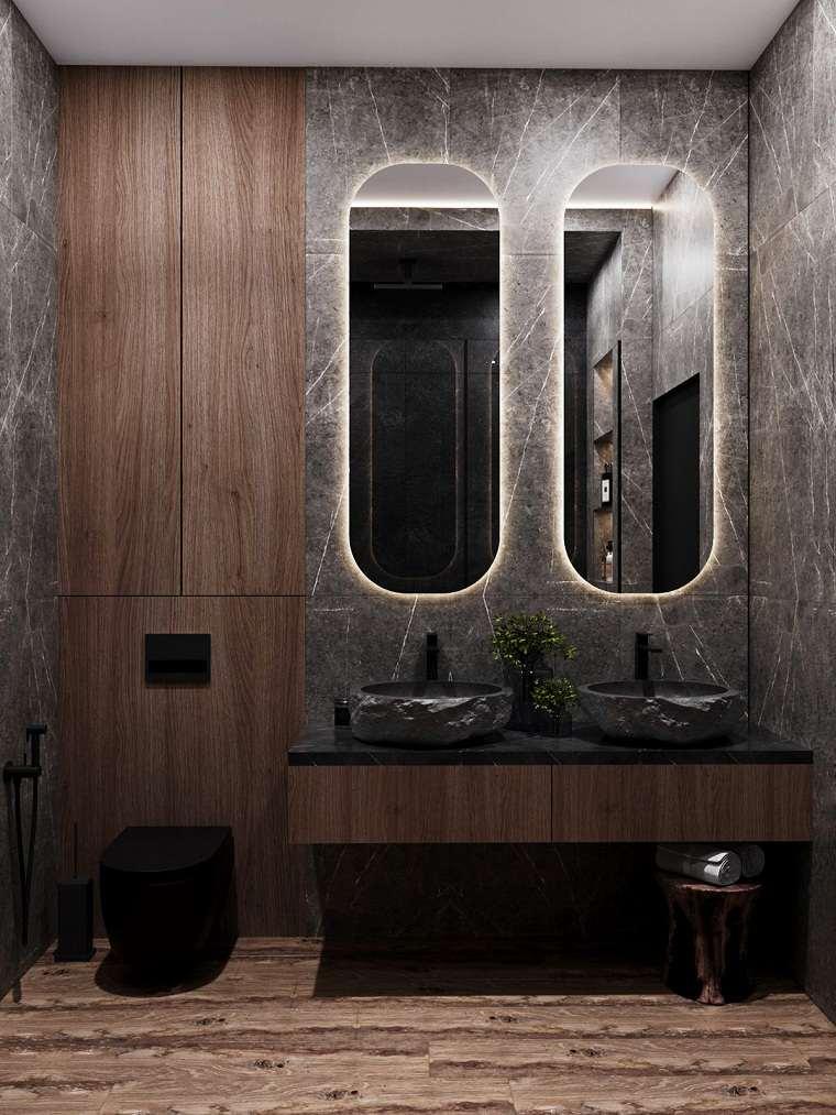 bano-dos-lavabos-estilo-ideas