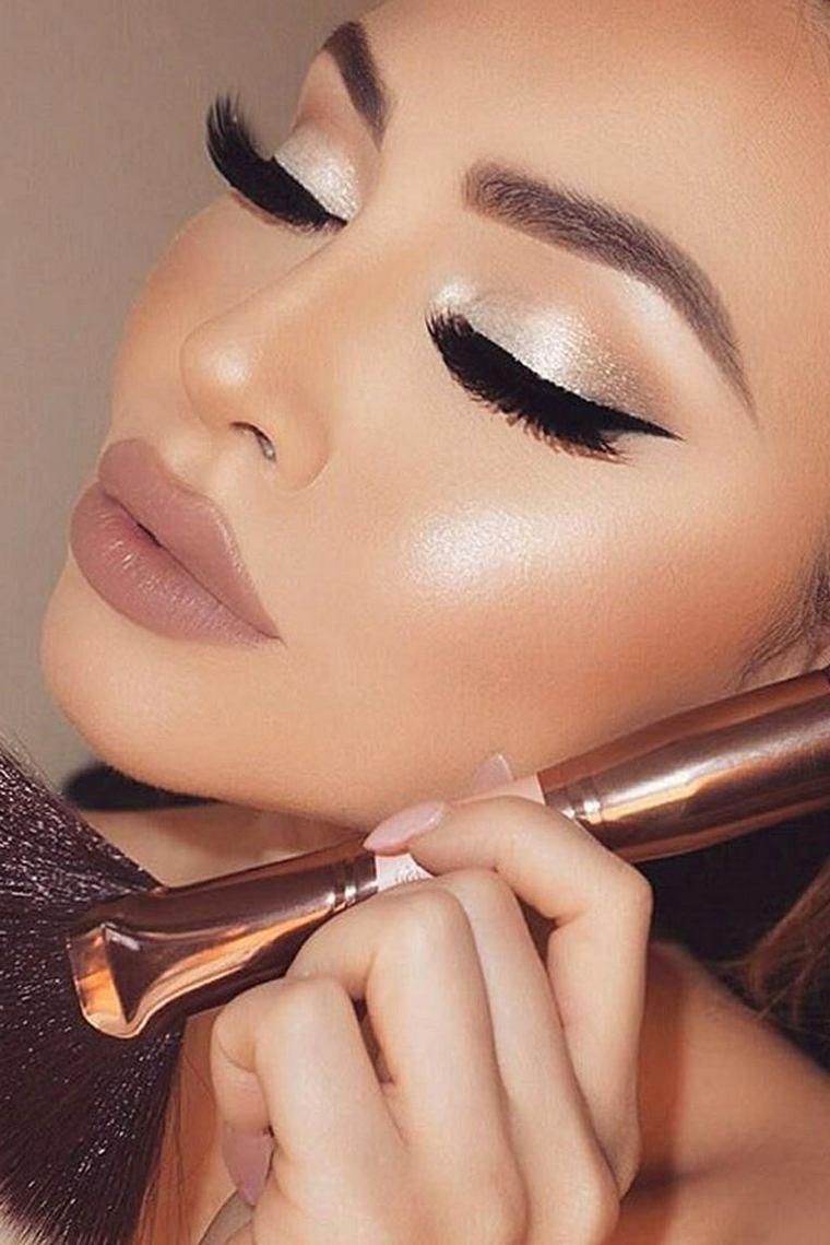 belleza-maquillaje-brillante-ideas