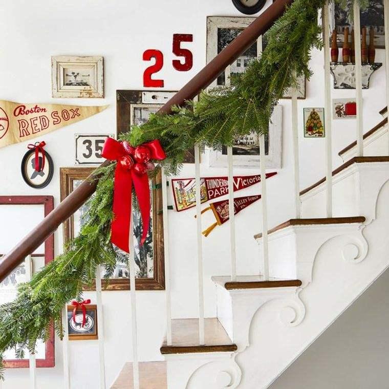 bricolaje casero adorno escaleras