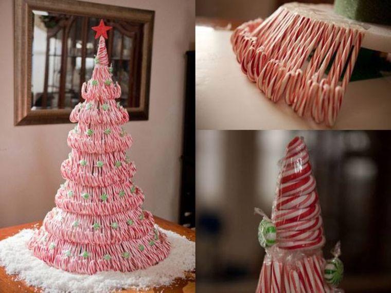 bricolaje casero mini arbol caramelo