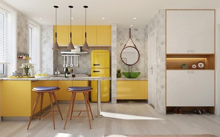 cocina-amarilla-estilo