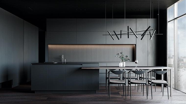 cocina-contemporanea-negra-ideas