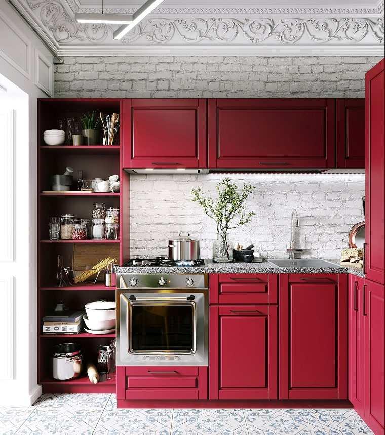 cocina-roja-ideas