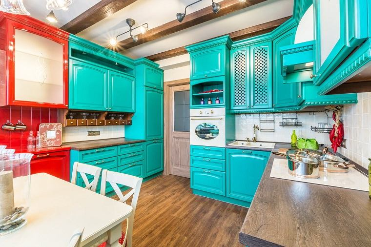 colores-de-muebles-de-cocina-color-vibrante