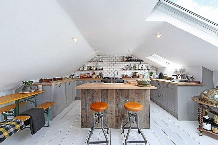 colores-de-muebles-de-cocina-gris-blano-madera