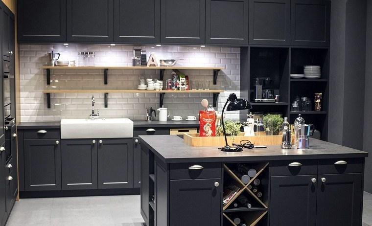 colores-de-muebles-de-cocina-negro