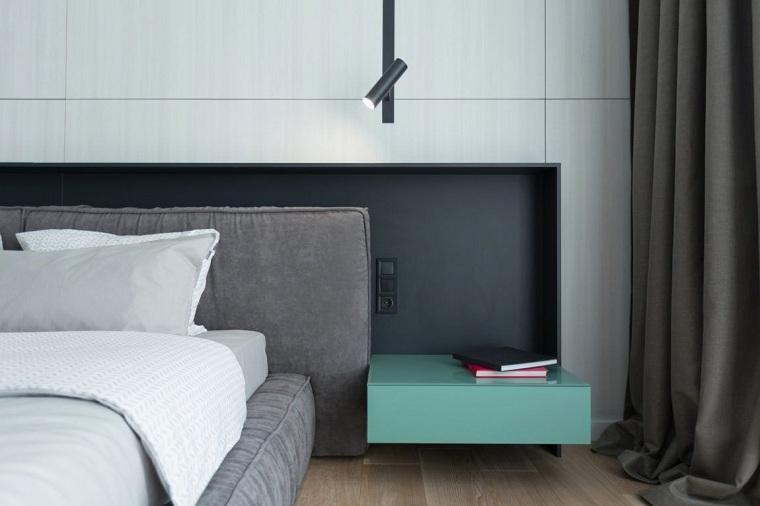 combinar negro gris-apartamento-estilo